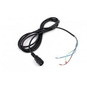 Kabel 3*1,5mm,délka 4m s VDE konektorem (samec)