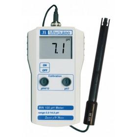Milwaukee MW 100 pH monitor