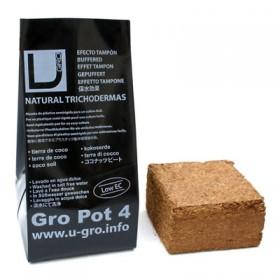 UGro Pot4 - lisovaná kostka 4L včetně květníku
