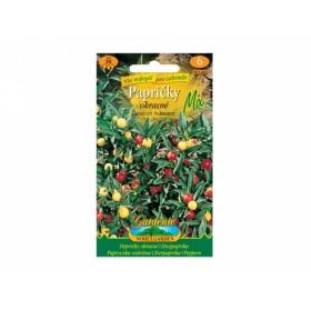 Papričky okrasné Mix - Capsicum frutescens