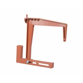 Držák truhlíku balkónový terakota