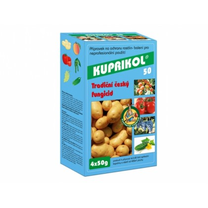 Fungicid KUPRIKOL 50 4x50g