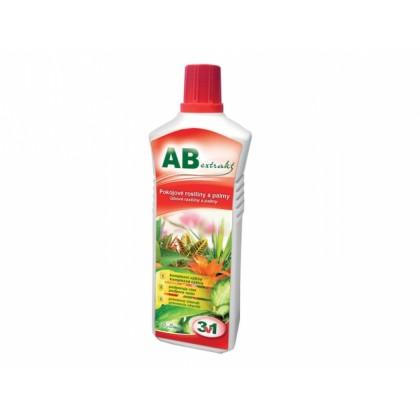 Hnojivo AB EXTRAKT na pokojové květiny 3v1 500ml