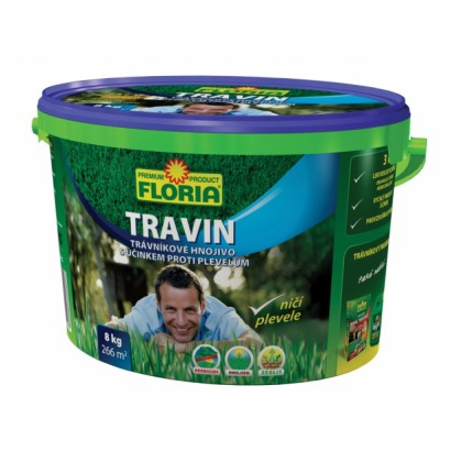 Hnojivo s herbicidy TRAVIN FLORIA 8kg