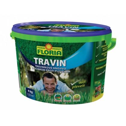 Hnojivo s herbicidy TRAVIN KRÁL TRÁVNÍKŮ 4kg