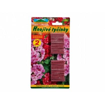 Hnojivo tyčinkové na muškáty 48ks