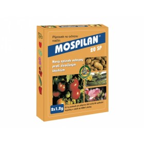 Mospilan 20SP 2x1,2 g - k hubení hmyzu