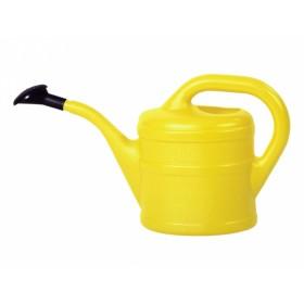 Konvička s růžicí plastová žlutá 1l
