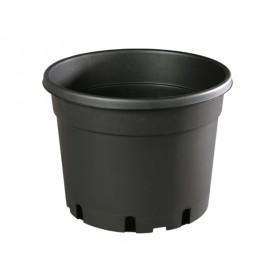 Květník CLASSIC MCC lehčený plastový černý d37cm 20l