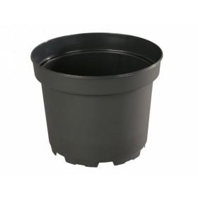 Květník CLASSIC MCI lehčený plastový černý d23cm 5l