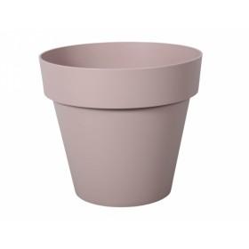 Květník MITU PAC PASTEL plastový světle růžový d35cm