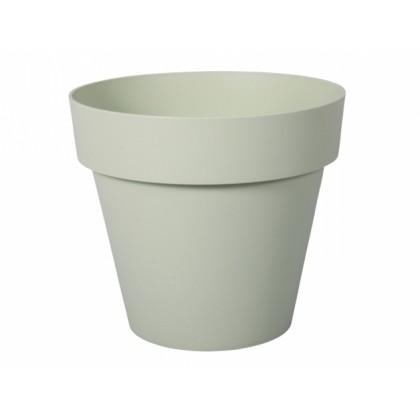 Květník MITU PAC PASTEL plastový světle zelený d35cm