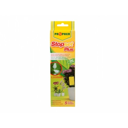 Lepové desky STOPSET PLUS žluté na mšice a molice 5ks