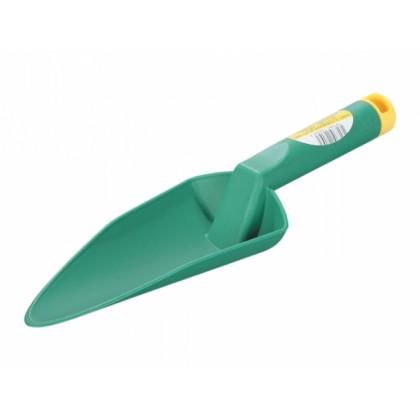 Lopatka sázecí široká plastová zelená