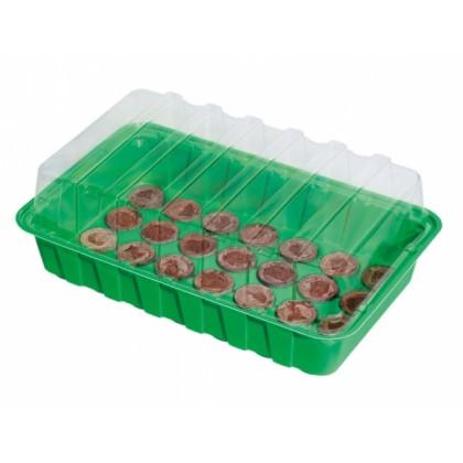 Minipařeniště JEANNE š.36x22x13cm + 28 rašelinových tablet