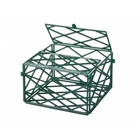Miska na aranžování zelená 13x13x8cm