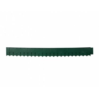 Obruba EMERALD EDGE s okrasným pásem zelený 0,12x1,22m