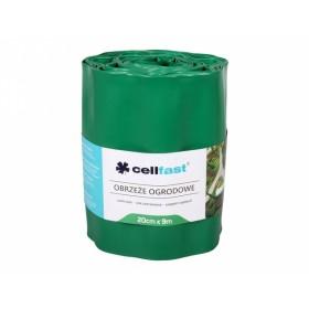 Obruba plastová zelená 9x0.2m