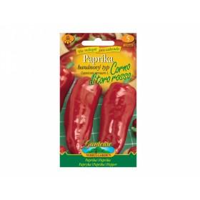 Paprika banánový typ Corno di toro rosso