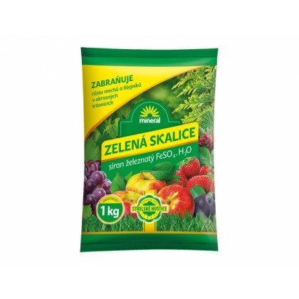 Skalice zelená MINERAL FeSO4 1kg