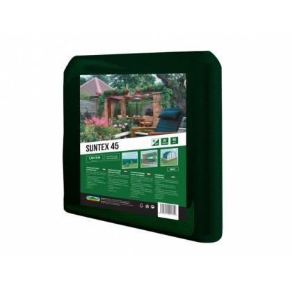 Stínovka PE SUNTEX zelená 45% 1x5m