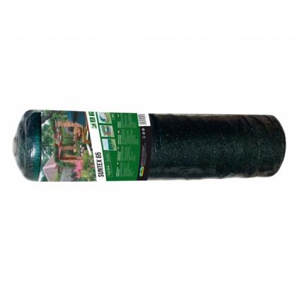 Stínovka PE zelená 65% 1,5x15m