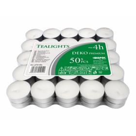 Svíčka čajová DEKO PREMIUM 50ks