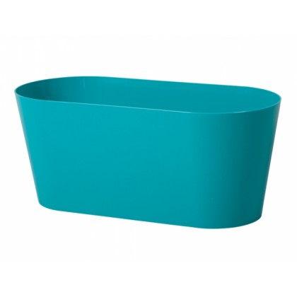 Truhlík CLIVO plastový modrý lesklý 29cm