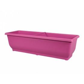 Truhlík VERBENA plastový růžový 60cm