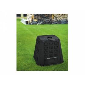 Kompostér plastový černý 400l