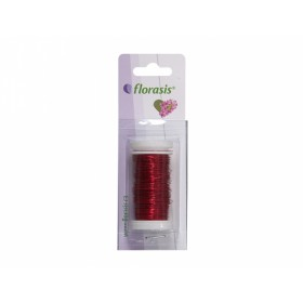 Drát dekorační Cu červený lakovaný na cívce 50g 0,3mm