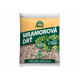 Drť mramorová FORESTINA DEKOR 7-14mm 5l