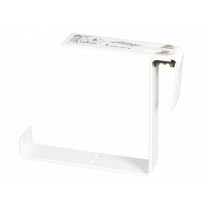 Držák truhlíku kovový bílý 2ks