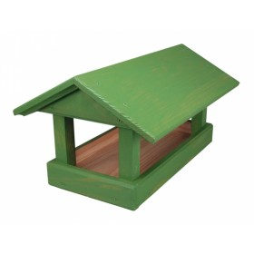 Krmítko č. 12 dřevěné zelené