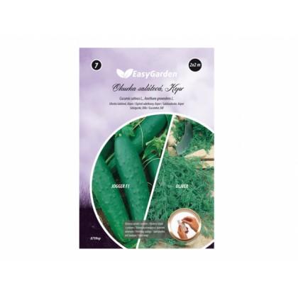 Pásek výsevný Okurka salátová JOGGER 2x, Kopr OLIVER 3x2m