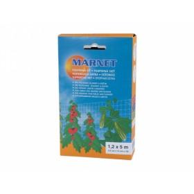 Síť podpůrná pro pěstování zeleniny a květin 1,2x5m 12x12cm