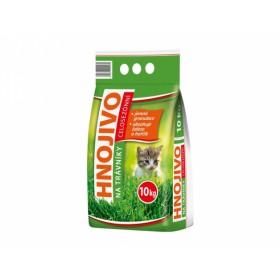 Hnojivo KRÁSNÁ ZAHRADA na trávníky 10kg