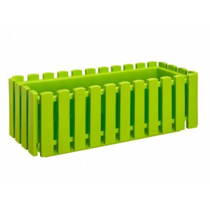 Truhlík FENCY plastový zelený 50cm