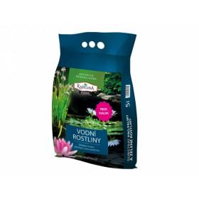 Substrát RAŠELINA PREMIUM pro vodní rostliny 5l