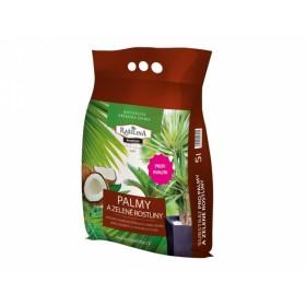 Substrát RAŠELINA PREMIUM pro zelené rostliny a palmy 5l