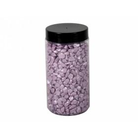 Drť BRILIANT dekorační světle fialová 5-8mm 600g