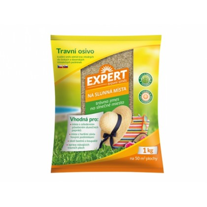 Směs travní EXPERT na slunná místa 1kg