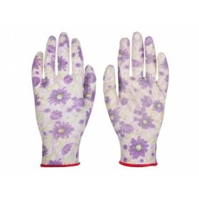 Rukavice IRIS pracovní polyesterový úplet velikost 7