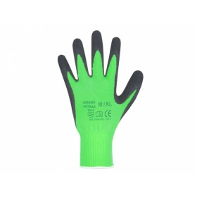 Rukavice PETRAX pracovní nylonový úplet velikost 8