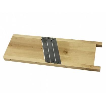 Kruhadlo na zelí se 3 noži 49x17cm