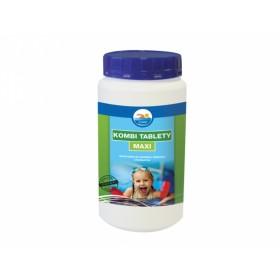 Kombi tablety MAXI 1kg + Laguna chlor šok 1kg