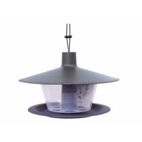 Krmítko FINCH plastové antracitové d29cm