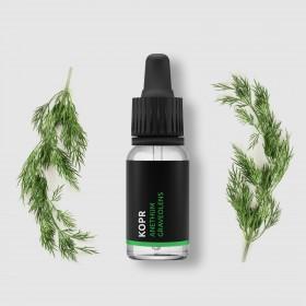 Kopr - 100% přírodní esenciální olej 10ml Pěstík