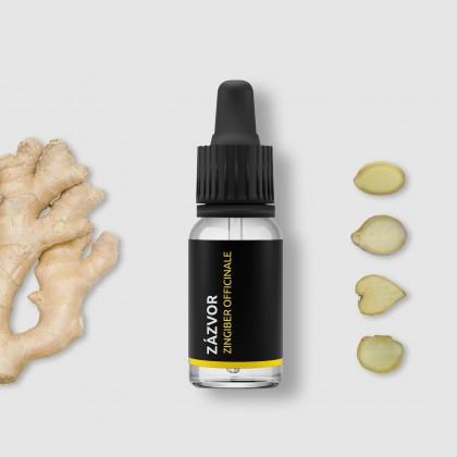 Zázvor - 100% přírodní esenciální olej 10ml Pěstík