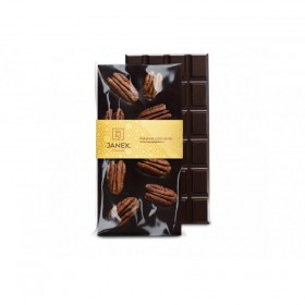 Hořká čokoláda s pekanovými ořechy